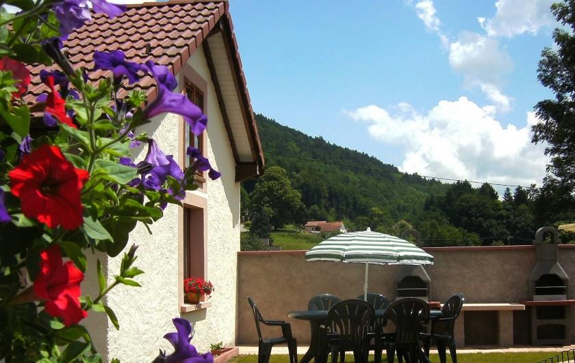 Location de vacances - Gîte à Ferdrupt - Coin barbecue