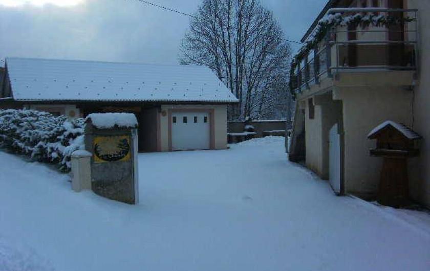 Location de vacances - Gîte à Ferdrupt - Entrée gîte