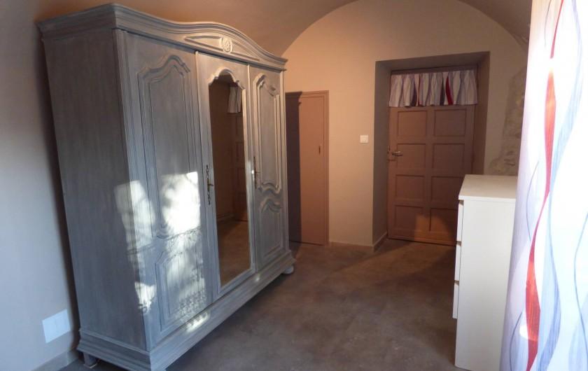 Location de vacances - Appartement à Mercuer - Chambre