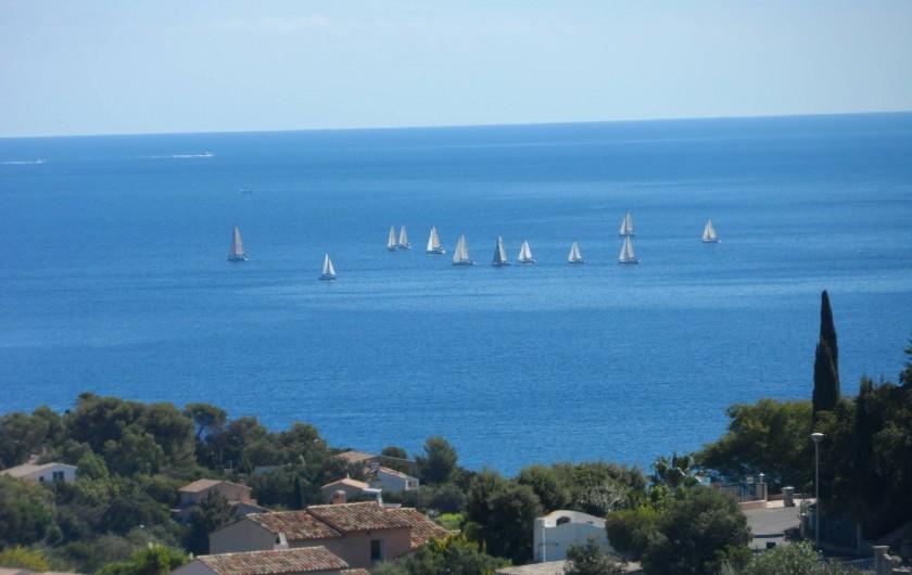 Location de vacances - Villa à Les Issambres - vue mer exceptionnelle