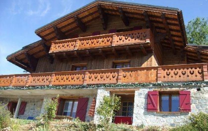Location de vacances - Chalet à Feissons-sur-Salins