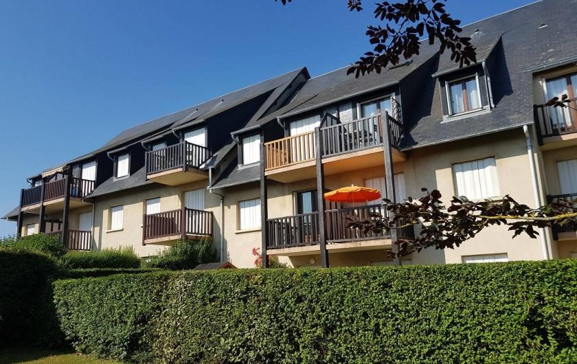 Location de vacances - Appartement à Blonville-sur-Mer - Vue d'ensemble de la résidence