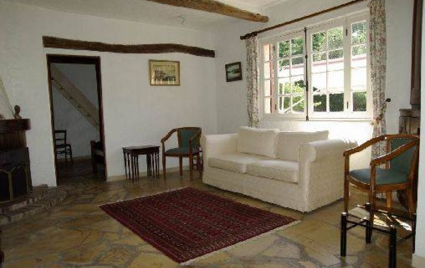 Location de vacances - Villa à Roquefort-les-Pins - Salon