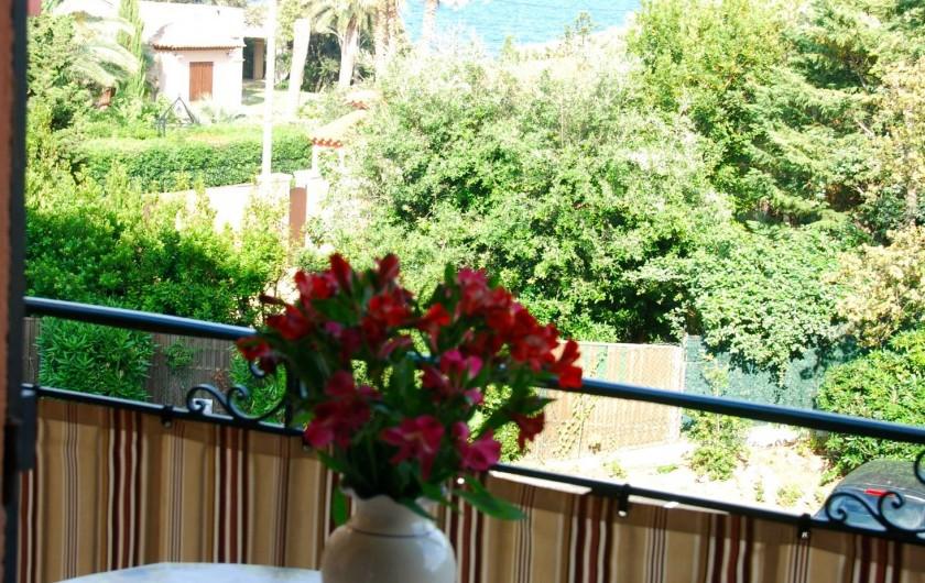Location de vacances - Appartement à Saint-Aygulf - BLACON FLEURI DE L APPARTEMENT
