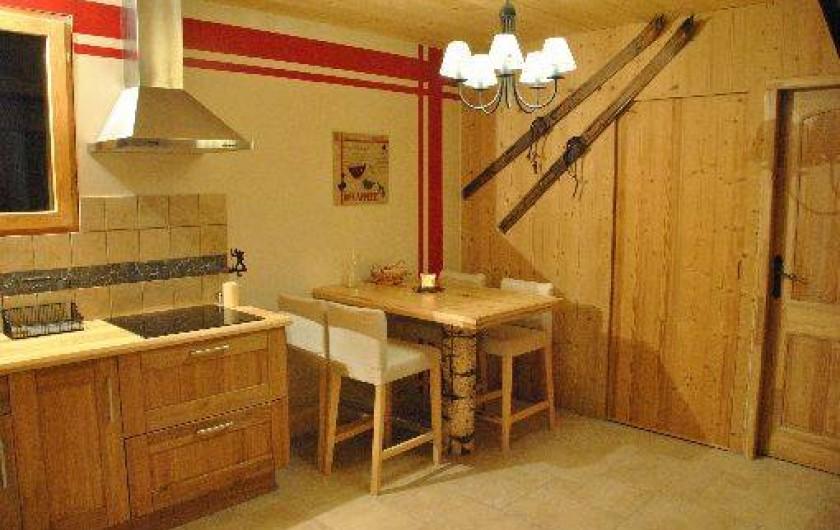 Location de vacances - Studio à Saint-Léger-les-Mélèzes