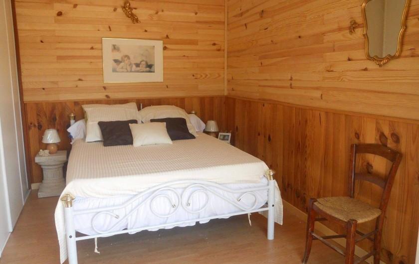 Location de vacances - Maison - Villa à Nice - La chambre des parents