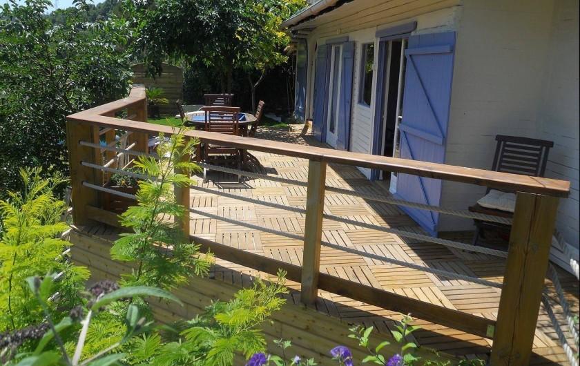 Location de vacances - Maison - Villa à Nice - La terrasse