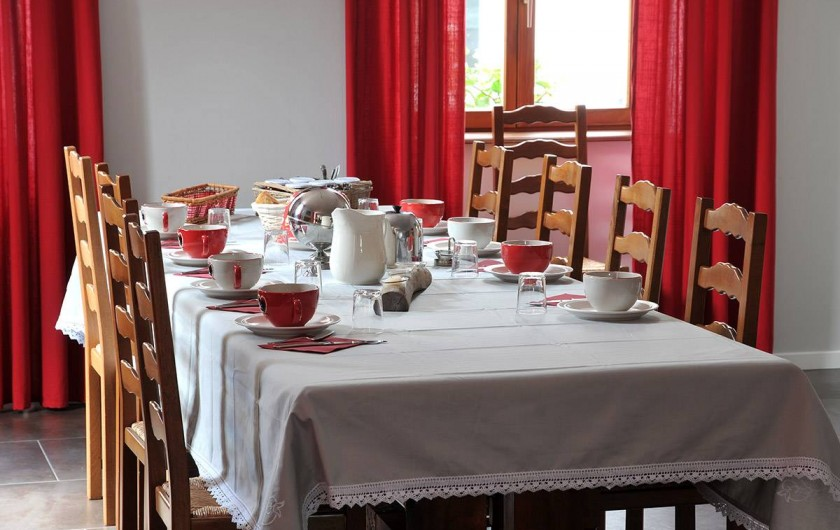 Location de vacances - Chambre d'hôtes à Sondernach