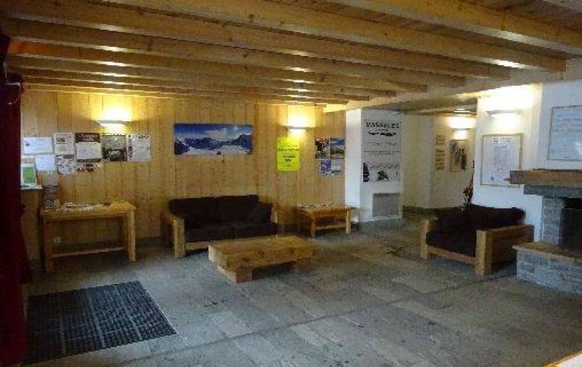 Location de vacances - Appartement à Saint-Gervais-les-Bains - Salon commun