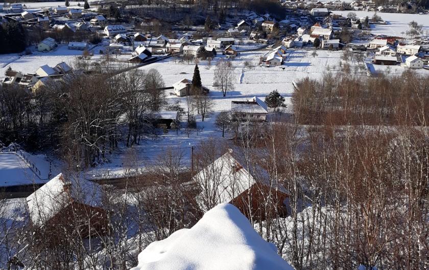 chambre étage lit grand confort