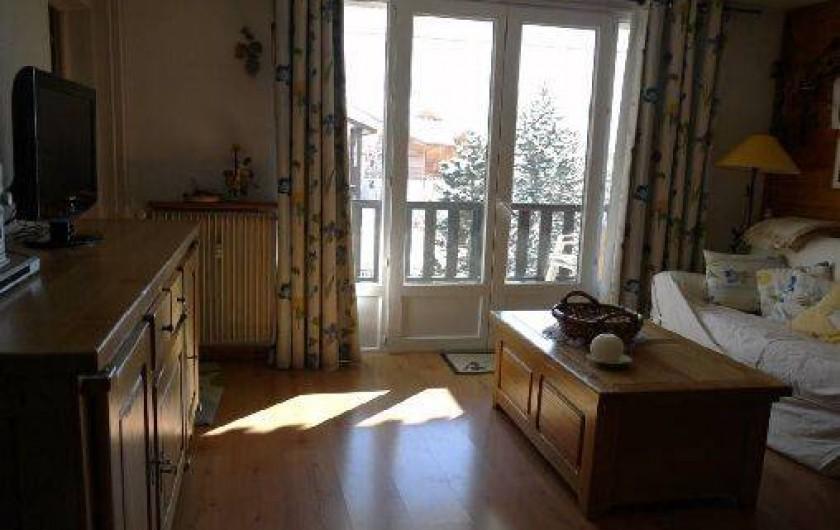 Location de vacances - Appartement à Les Deux Alpes - SALON/SÉJOUR