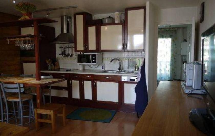 Location de vacances - Appartement à Les Deux Alpes - cuisine