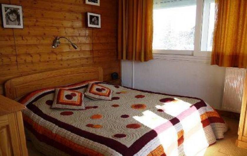 Location de vacances - Appartement à Les Deux Alpes - chambre parentale