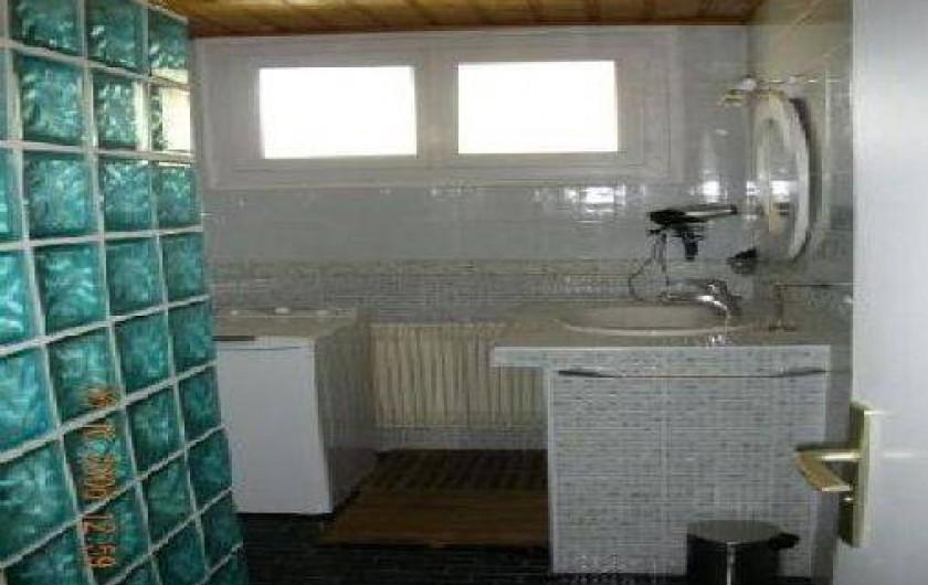 Location de vacances - Appartement à Les Deux Alpes - SDB