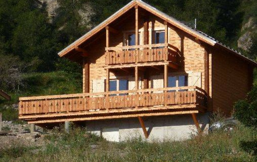 Location de vacances - Chalet à Réallon