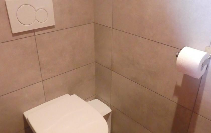 Location de vacances - Appartement à Méribel - Triolets - WC séparé