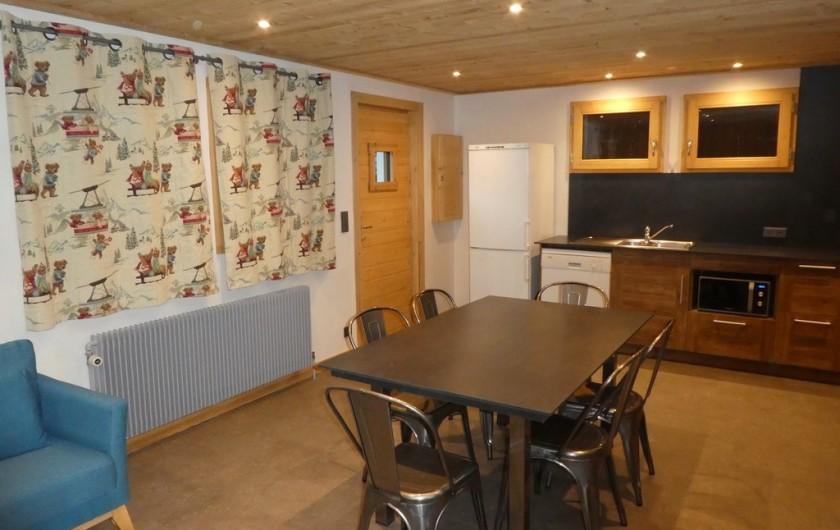Location de vacances - Appartement à Méribel - Triolets - Séjour
