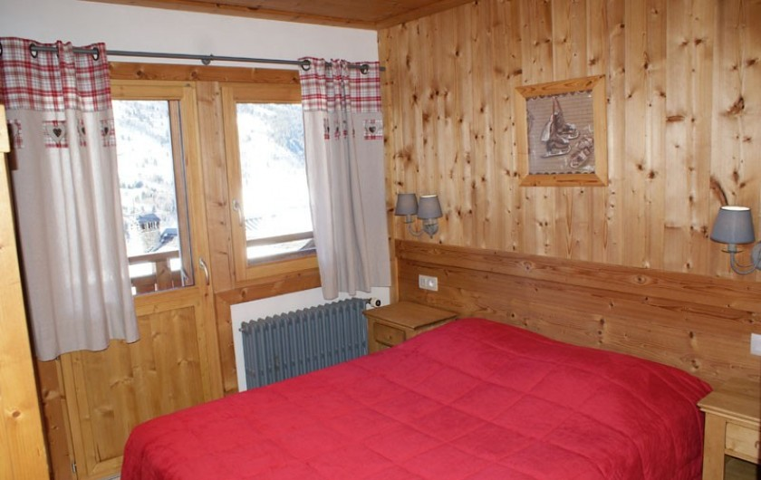 Location de vacances - Appartement à Méribel - Fougères 2 - Chambre lit double