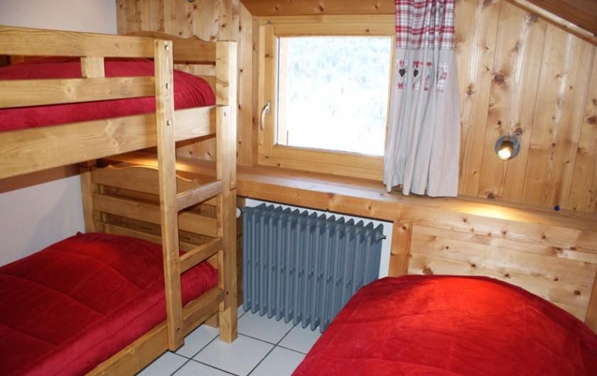 Location de vacances - Appartement à Méribel - Fougères 2 - Chambre 3 lits