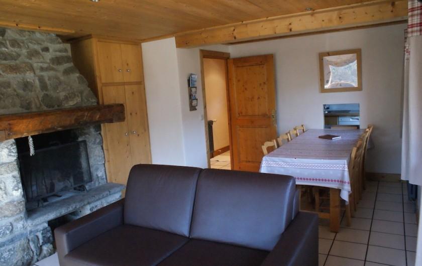 Location de vacances - Appartement à Méribel - Fougères 2 - Séjour
