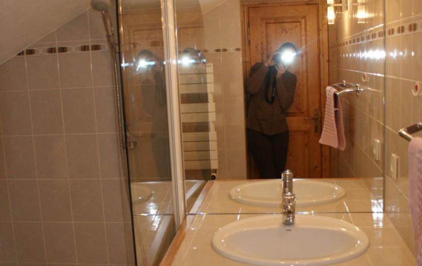 Location de vacances - Appartement à Méribel - Fougères 2 - Salle de bain