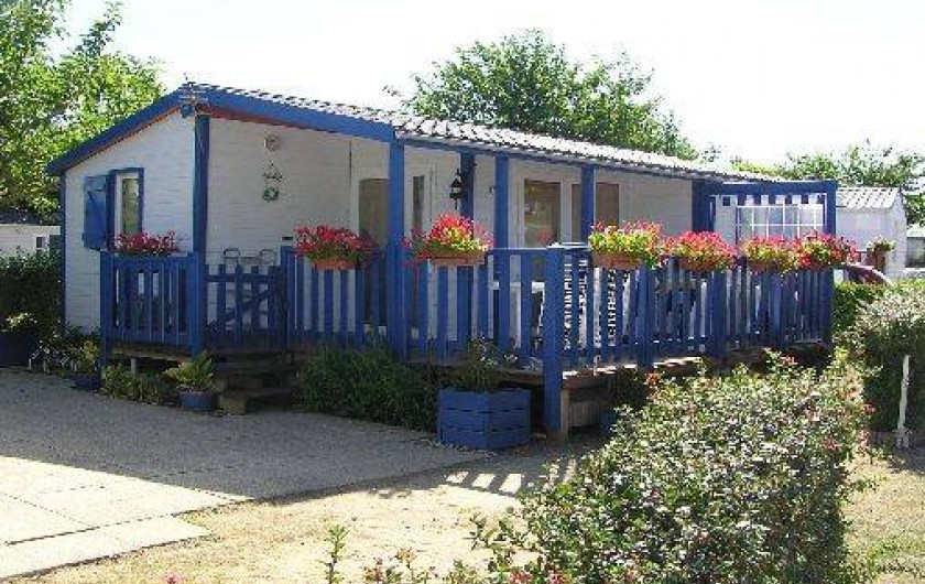 Location de vacances - Camping à Saint-Jean-de-Monts - Mobil-home Vendée