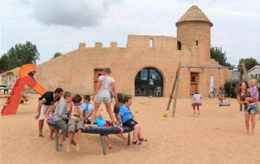 Location de vacances - Camping à Saint-Jean-de-Monts - Club enfant camping St jean de monts