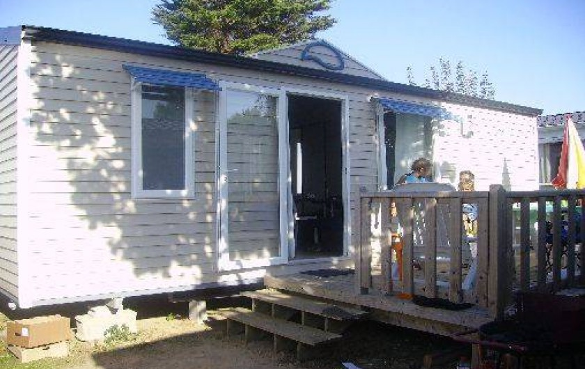 Location de vacances - Camping à Saint-Jean-de-Monts - mobil-home St jean de Monts