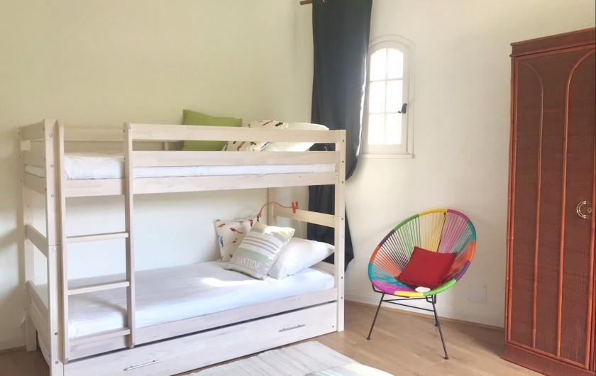 Location de vacances - Villa à Peymeinade - chambre 3  1er étage