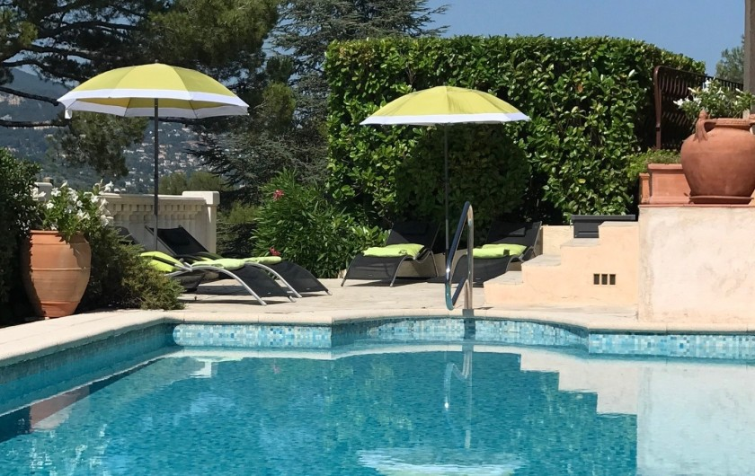 Location de vacances - Villa à Peymeinade - Piscine petit bain