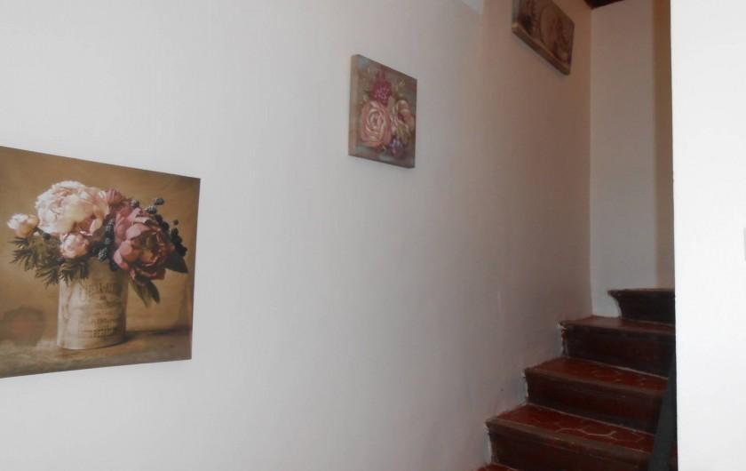 Location de vacances - Gîte à Vidauban - entrée/ étage