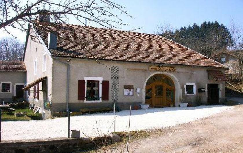 Location de vacances - Chambre d'hôtes à Amont-et-Effreney - La ferme