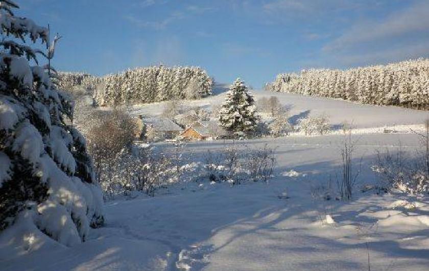 Location de vacances - Chambre d'hôtes à Amont-et-Effreney - Vue de la chapelle