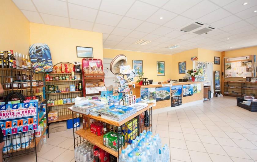 Location de vacances - Appartement à Lumio - Reception