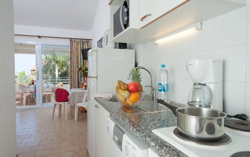Location de vacances - Appartement à Lumio - Cuisine