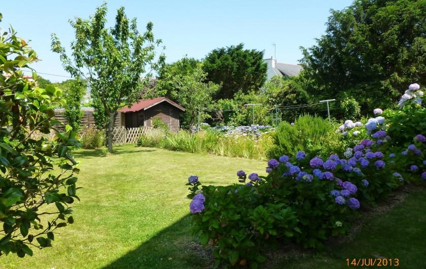 Location de vacances - Villa à Concarneau - jardin