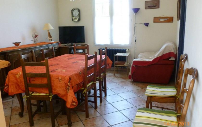 Location de vacances - Villa à Concarneau - salle à manger