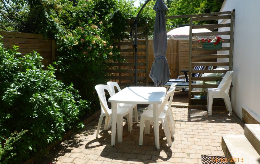 Location de vacances - Villa à Concarneau - terrasse