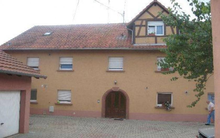 Location de vacances - Gîte à Wickerschwihr