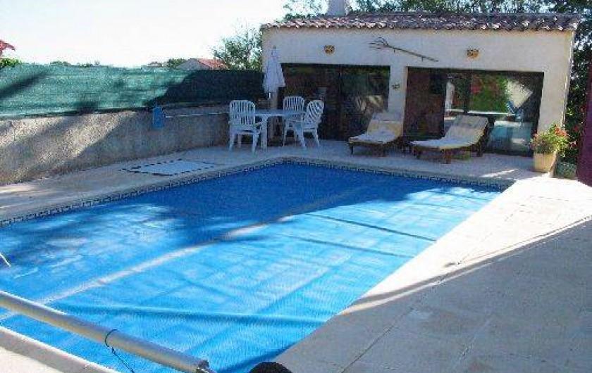 Location de vacances - Villa à Rasteau