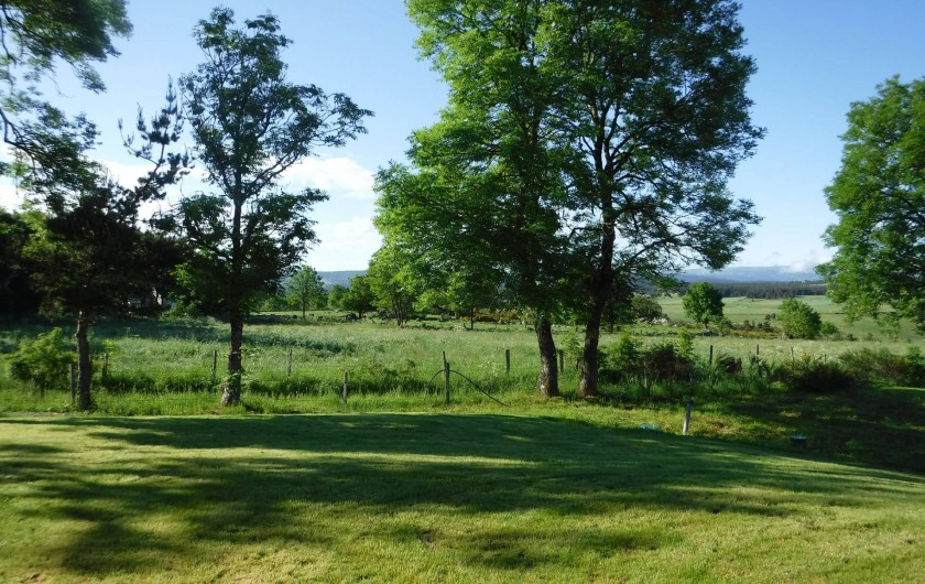Location de vacances - Chalet à Villesoule - vu de la terrasse
