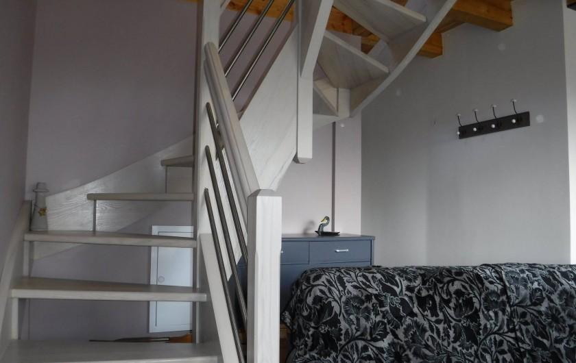 Location de vacances - Chalet à Villesoule - escalier