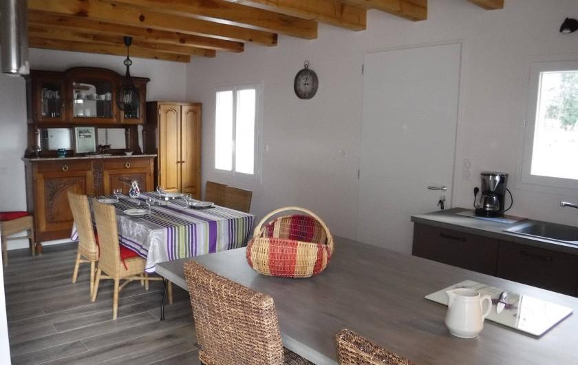 Location de vacances - Chalet à Villesoule - salle a manger