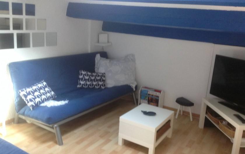 Location de vacances - Appartement à Le Barcarès - mezzanine