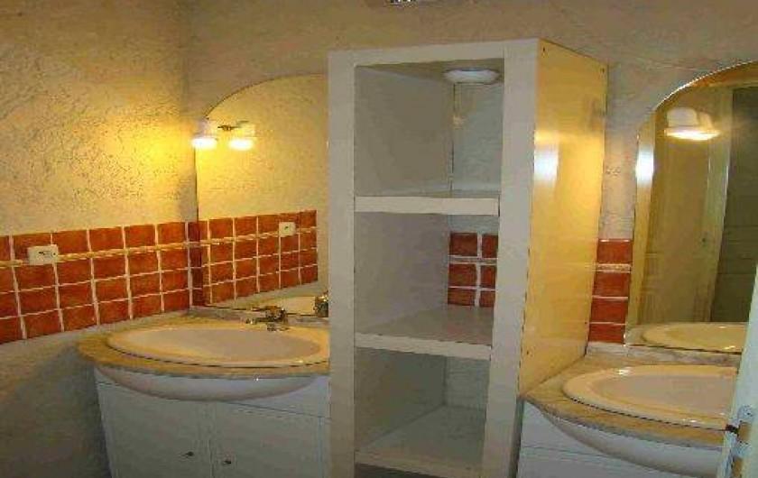 Location de vacances - Appartement à Cavalaire-sur-Mer - Salle de bain appartement soleil