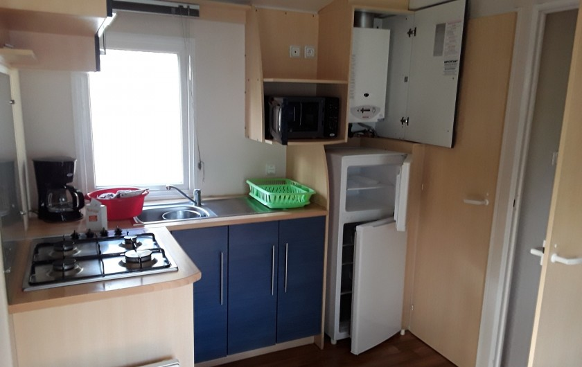 Location de vacances - Bungalow - Mobilhome à Camiers - MB G06 ( 5pl)