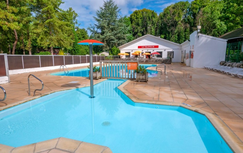 Location de vacances - Bungalow - Mobilhome à Camiers - piscine