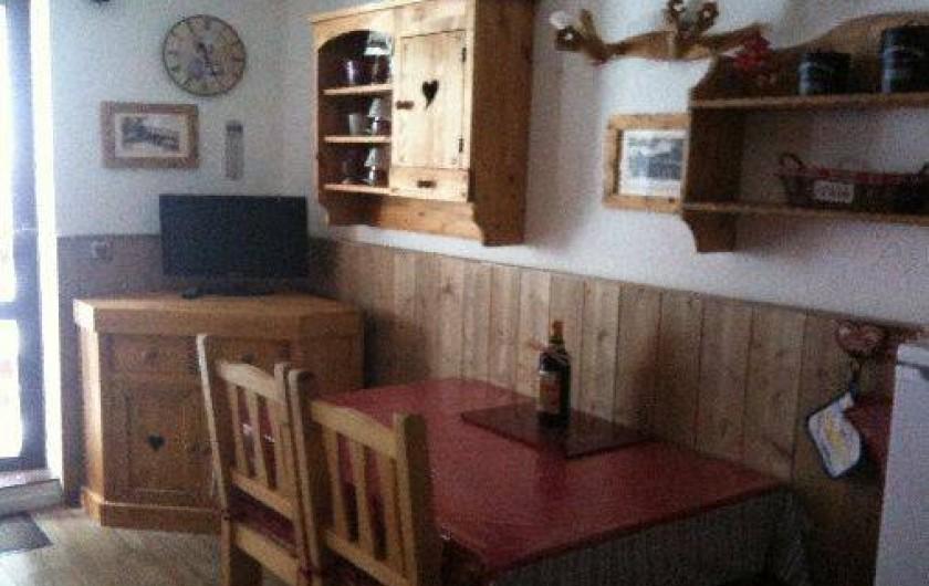 Location de vacances - Studio à Montvalezan