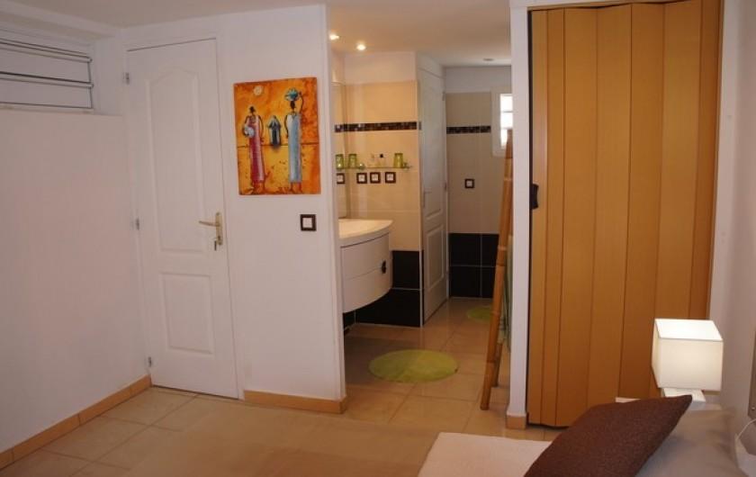 Location de vacances - Villa à Saint-François - Salle de douche WC lavabo