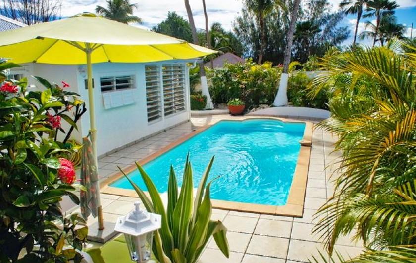 Location de vacances - Villa à Saint-François - villa ALAMANDA avec piscine privative